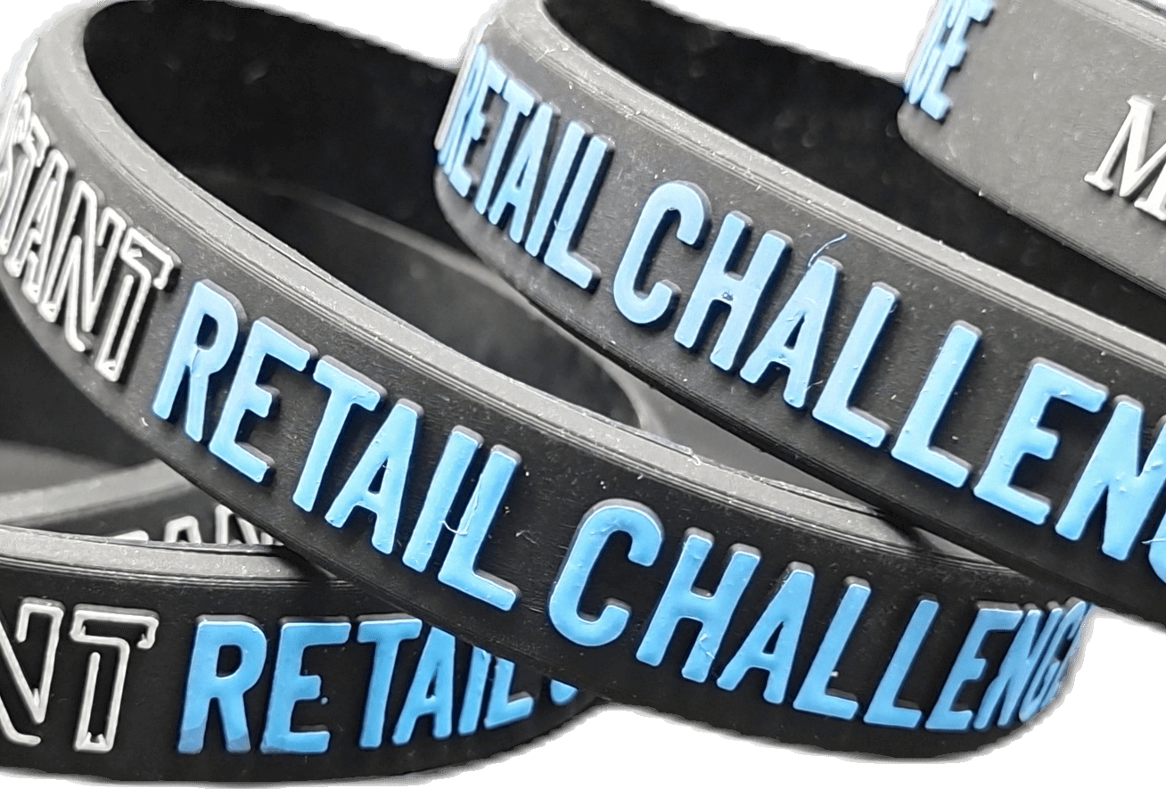 Embossed Printed Wristbands